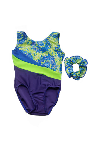 Mondor 17872 Blue Tornado Gym Bodysuit