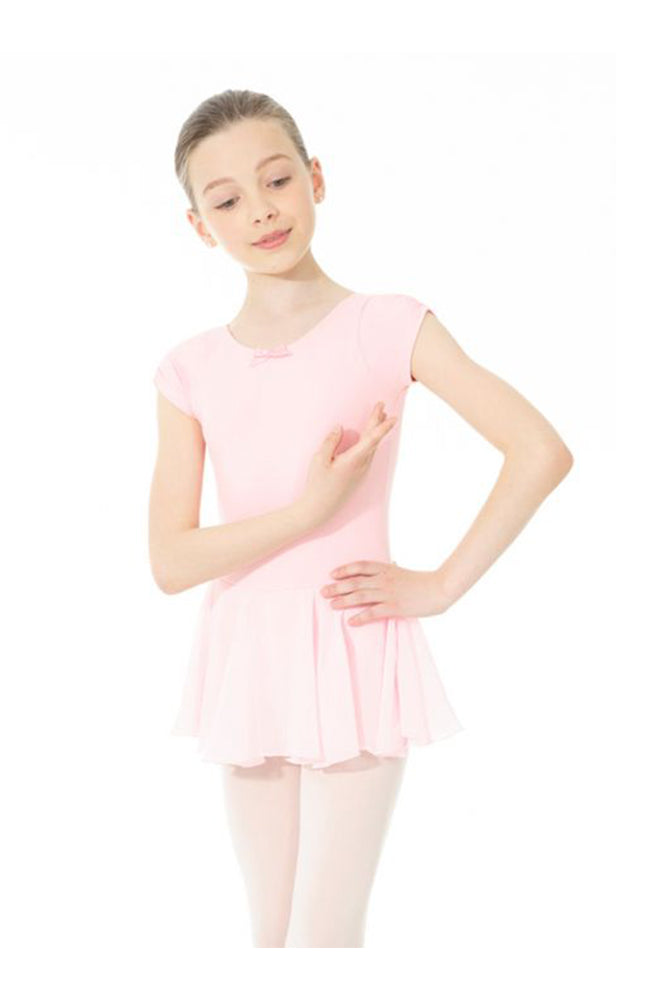 Mondor Child Pinch Cap Sleeve Dress