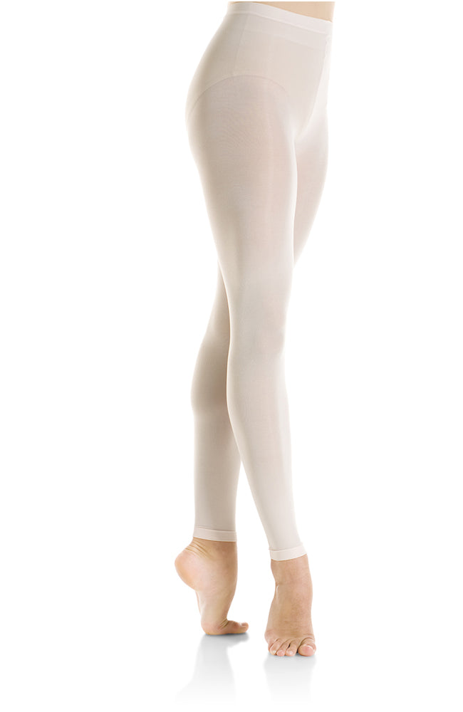 Mondor 312 Adult Ballerina Pink Footless Tights