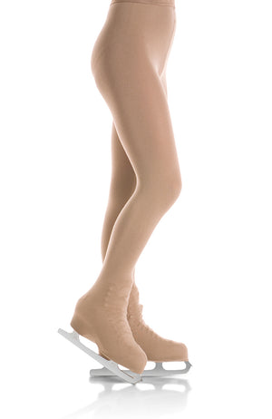 Mondor 3396 Plus Size Matte Boot Cover Skating Tights