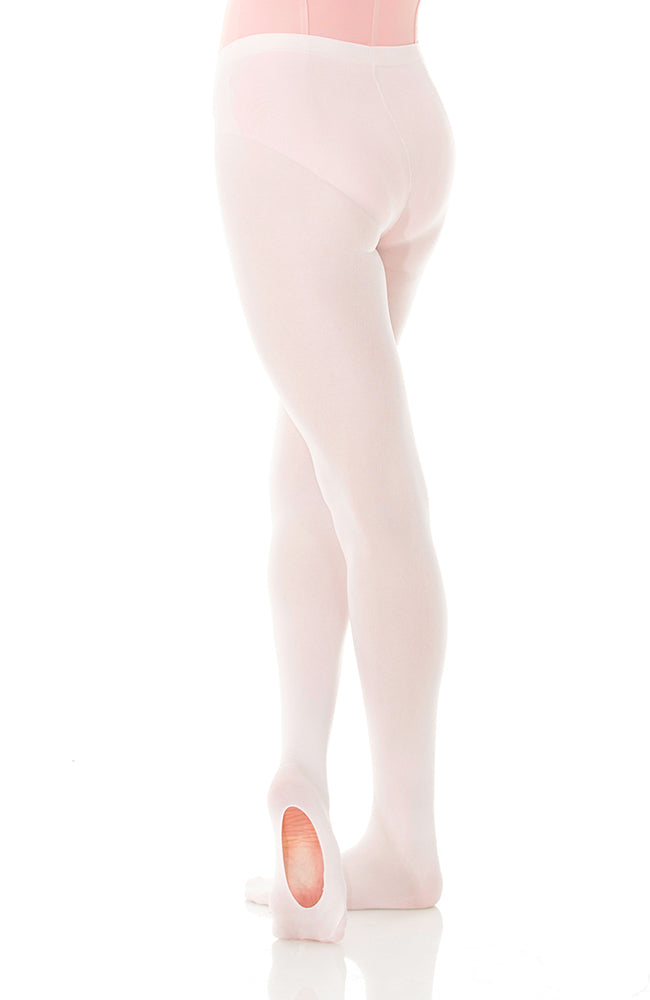 Mondor 349 Adult Pink Durable Convertible Dance Tights
