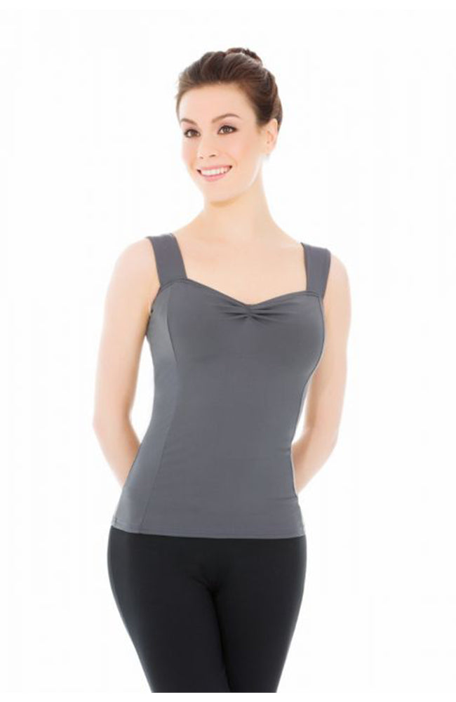 Adult Pinch Front Tank Top