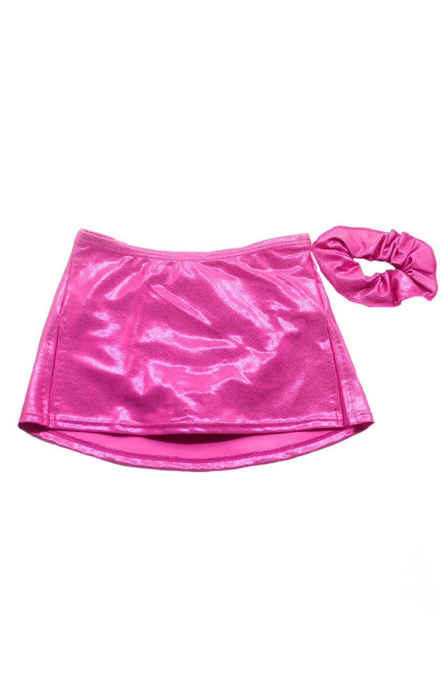 Mondor 6321 Child Foil Box Skirt Fuchsia