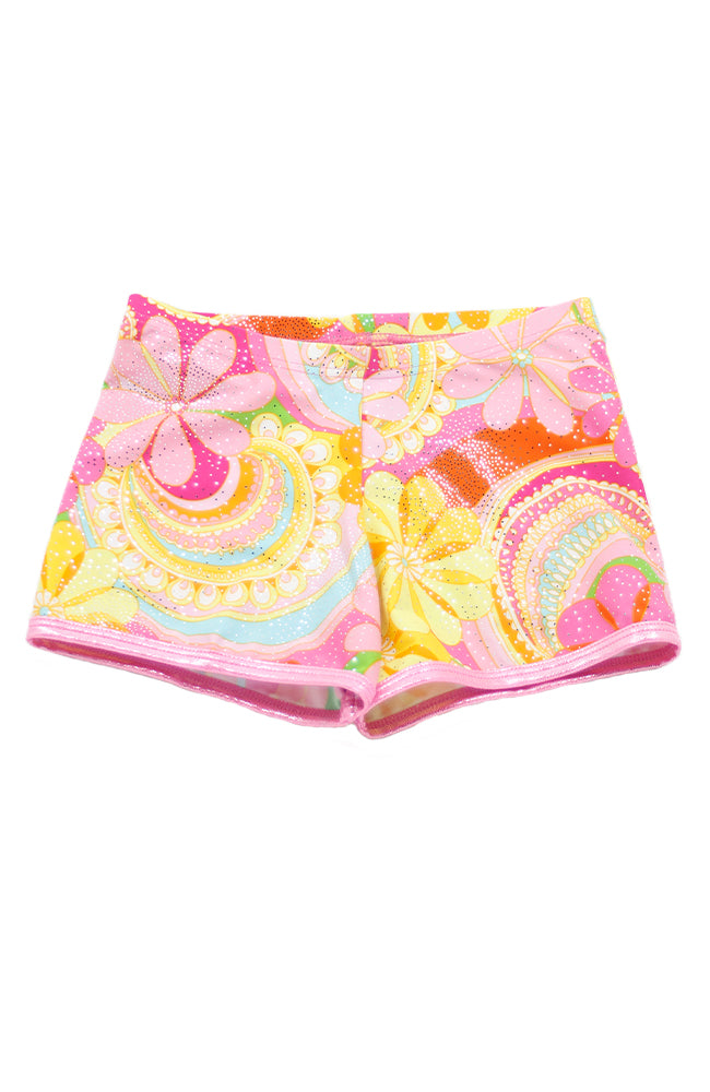 Mondor 7875 Disco Flower Shorts