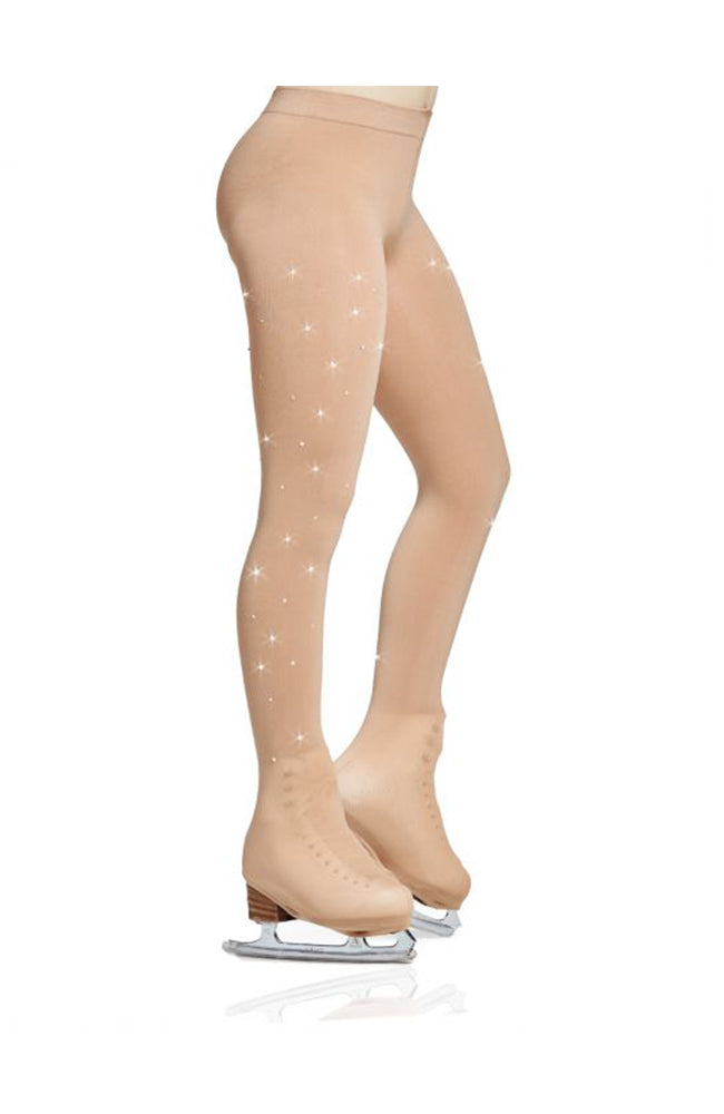 Mondor 912 Adult Rhinestone Boot Skate Tights
