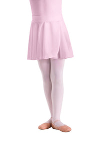 Motionwear 1011 062 Pull On Mock Wrap Skirt Pink