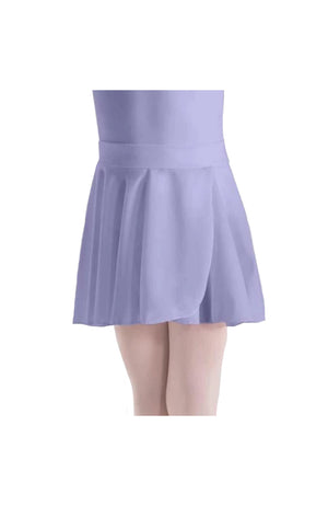 Motionwear 1011 091 Pull On Mock Wrap Skirt Violette