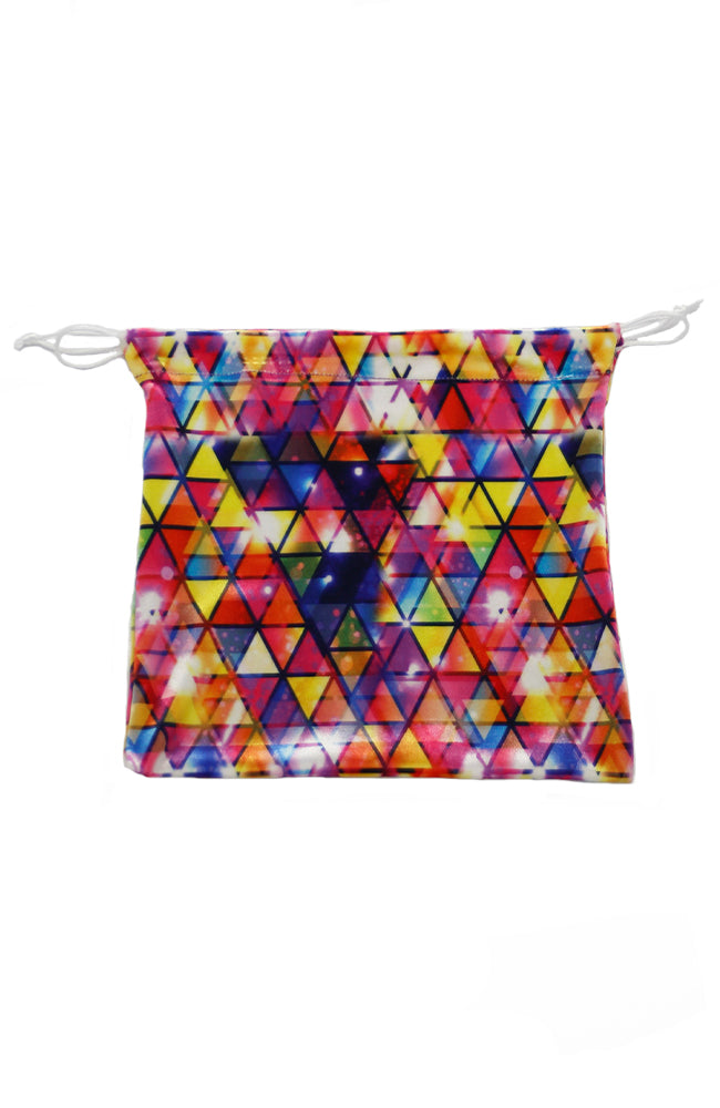 Motionwear 1062 254 Colourful Triangle Pattern Grip Bag