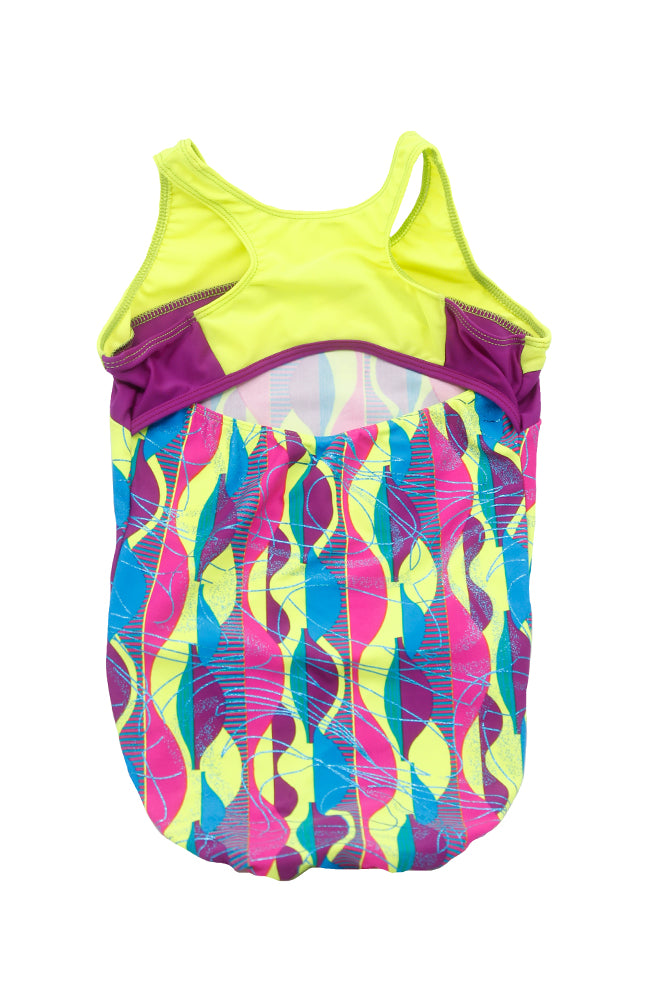 Motionwear 1167 378 Gymnastic Tank Bodysuit Back