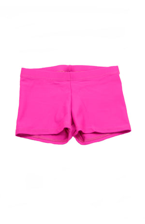 Motionwear 1631 Child Low Rise Shorts hot pink