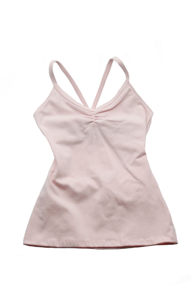 Motionwear 3516 509 Cami Bowtie Back Camisole Top Pink Front