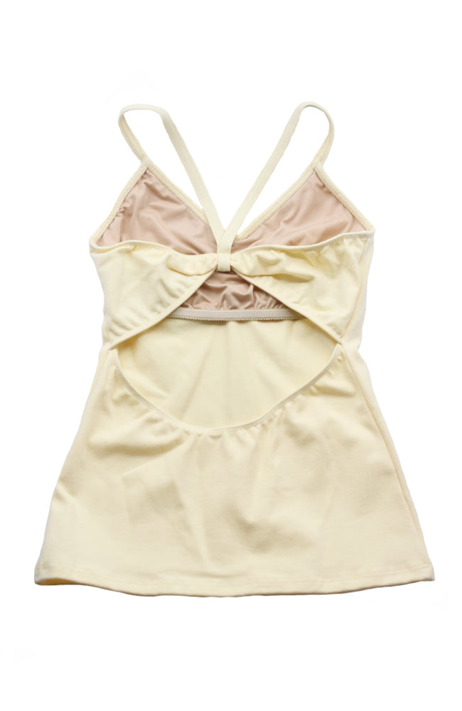Motionwear 3516 522 Bowtie Back Camisole Top Butter Back