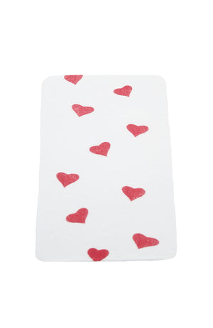 Rubies 50133 Child Heart Stockings White