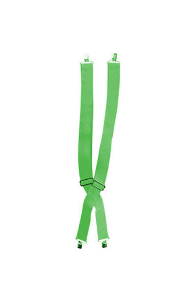 Rubies Luck O' The Irish Green Costume Suspenders