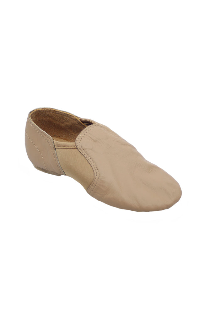 Sansha JS61 Childrens Little Charlotte Jazz Slip On Tan