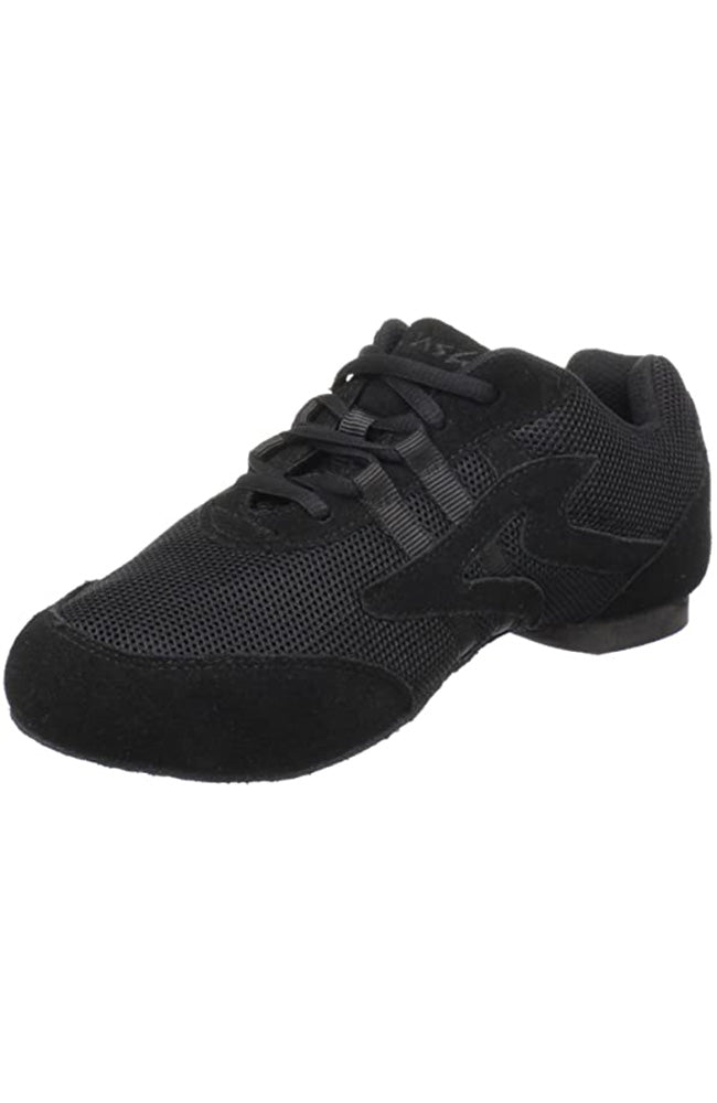 Sansha V931M Adult Black Salsette Suede Bottom Sneaker