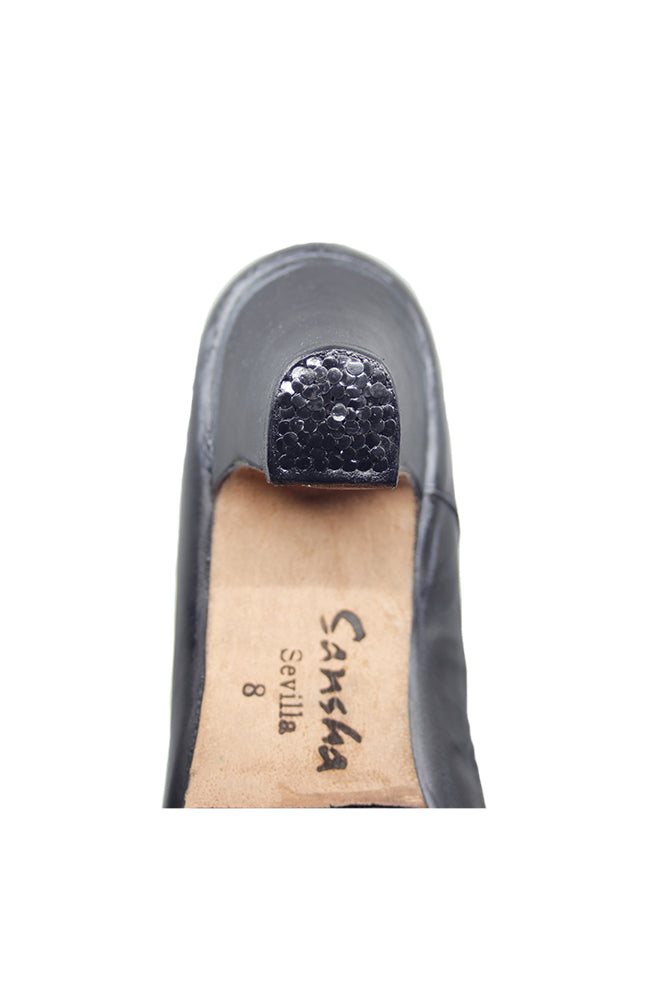 Sansha Sevilla FL1CO Ladies Flamenco Black Heel