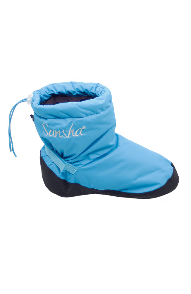Sansha W00Z2 Adult Freeze Booties Blue Black One