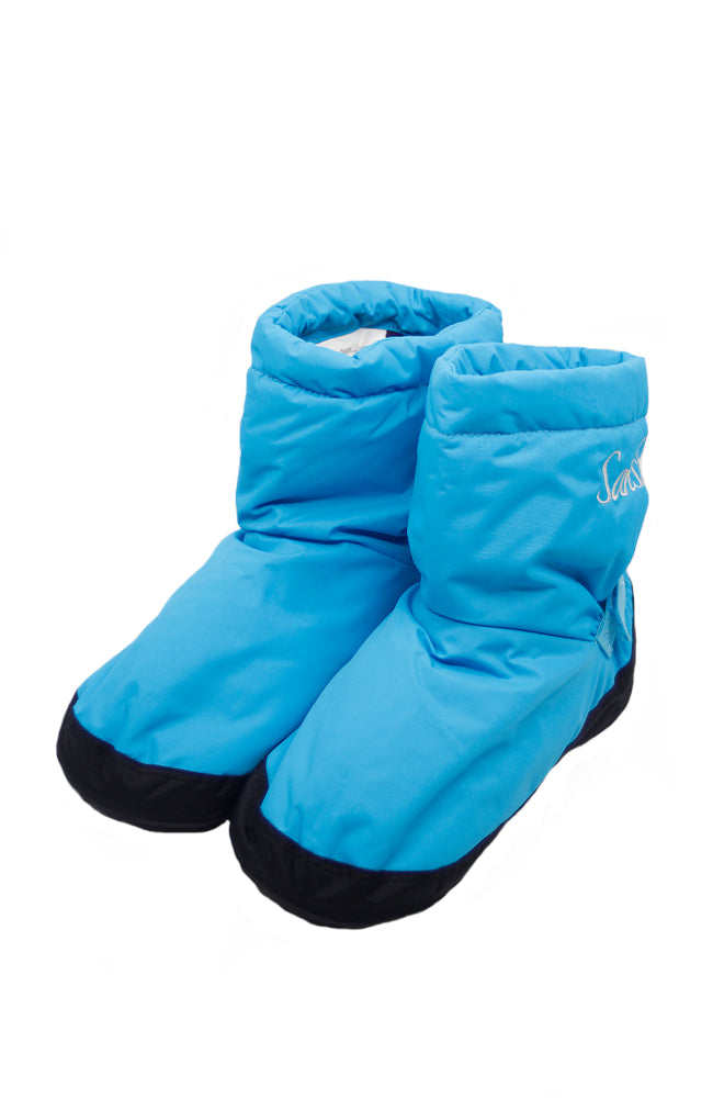 Sansha W00Z2 Adult Freeze Booties Blue Black Both