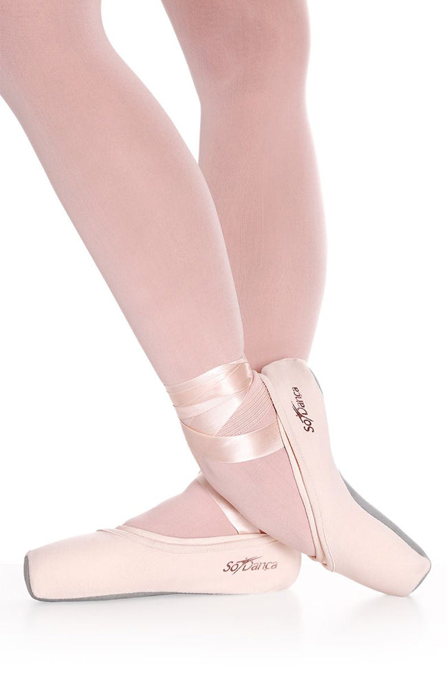 So Danca AC09 Adult Light Pink Pointe Shoe Covers