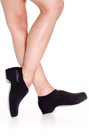 So Danca AC11 Adult Black Tap Shoe Covers