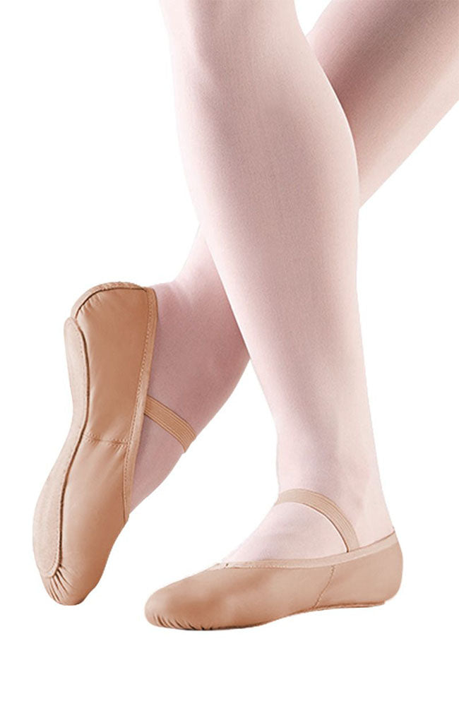 So Danca BA14 Child Pink Leather Full Sole Ballet Slippers