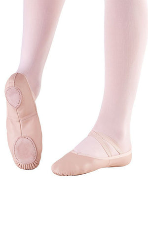 So Danca BA17S Child Pink Leather Split Sole Ballet Slippers