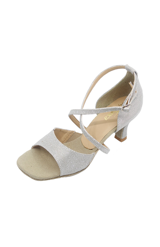 So Danca BL112 Silver Open Toe Ballroom Shoe
