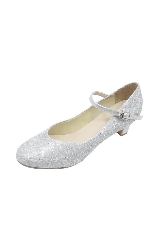 So Danca BL116 Sparkle Silver Ballroom Dance Shoes