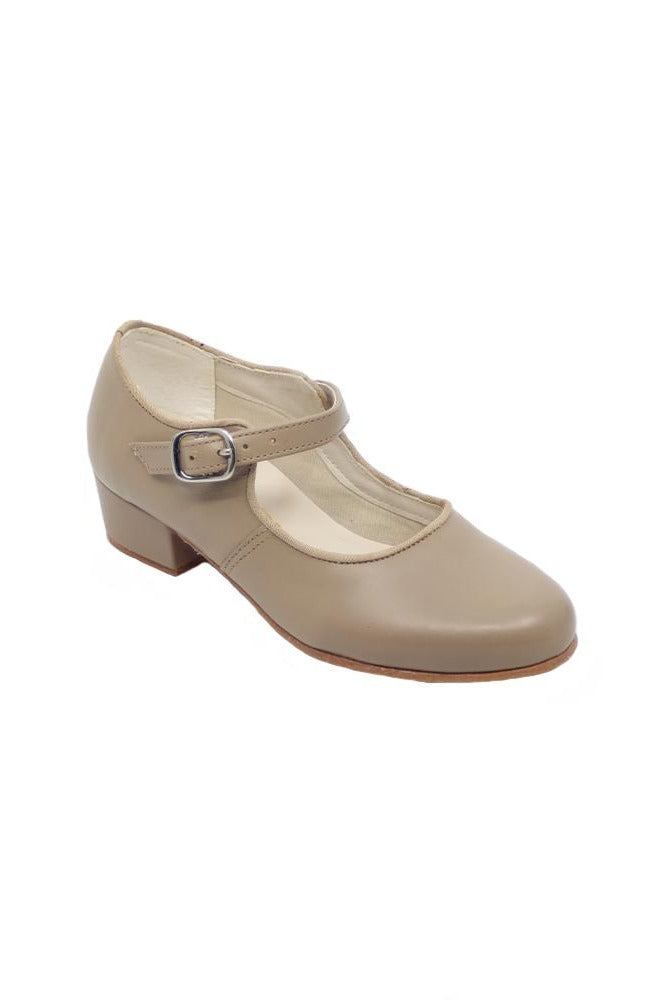 So Danca CH-01 Tan Cuban Heel Character Shoe