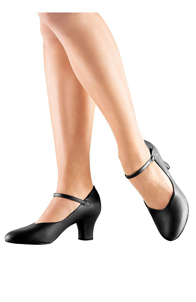 "So Danca CH52 2"" Black Character Shoes"