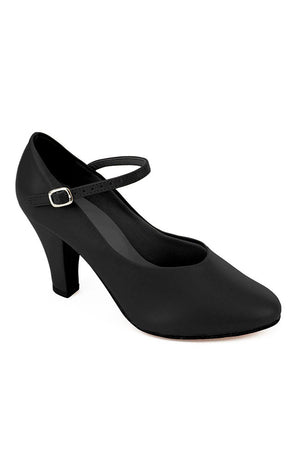 "So Danca CH53 Black 3"" Braced Character Shoes"