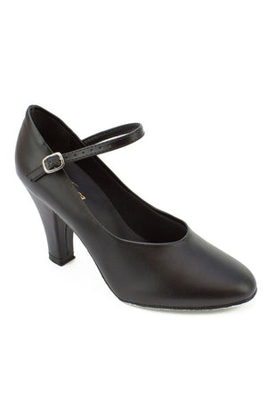 "So Danca CH793 3"" Braced Heel Character Shoe with Suede Sole"