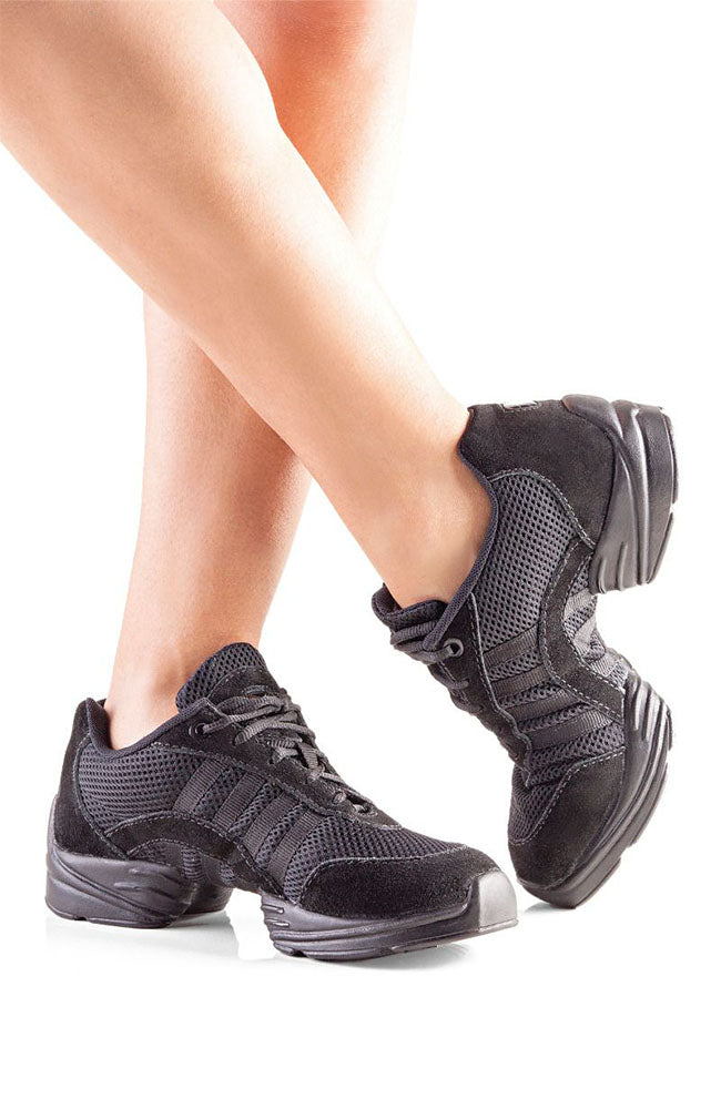 So Danca DK70 Adult Black Split Sole Dance Sneaker
