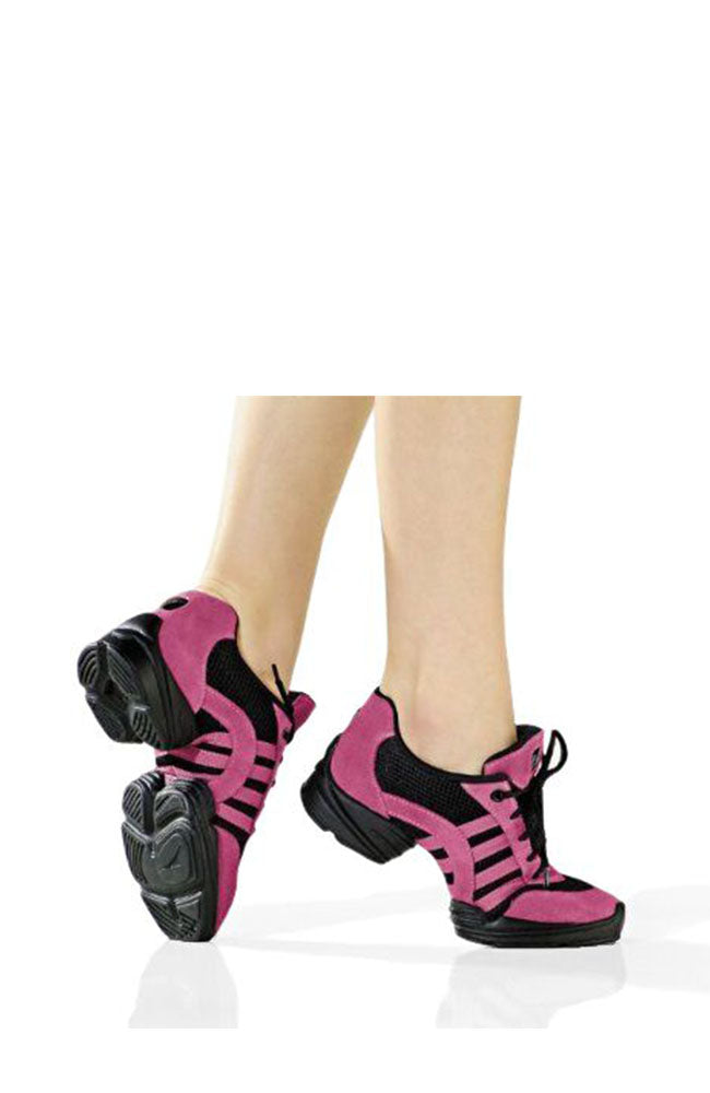 So Danca DK70 Hot Pink and Black Split Sole Dance Sneaker