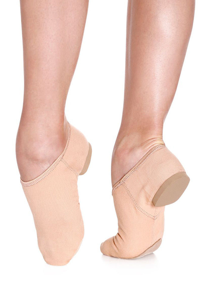 So Danca JZ75 Adult Nude Stretch Canvas Jazz Shoes