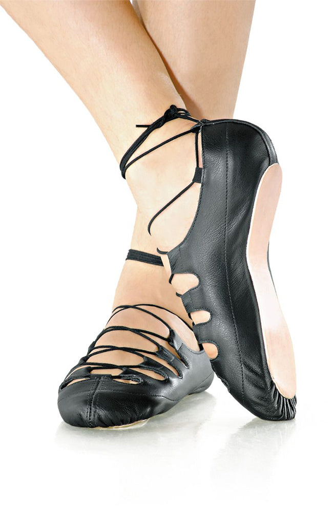 So Danca MD10 Black Child Leather Irish Ghillies