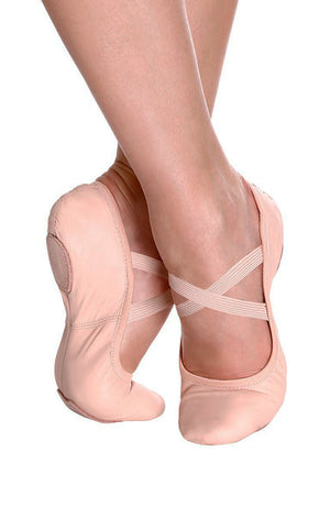 So Danca SD60 Adult Leather Split Sole Ballet Slippers