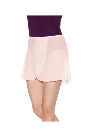 So Danca SL66 Semi Sheer Wrap Skirt Pink