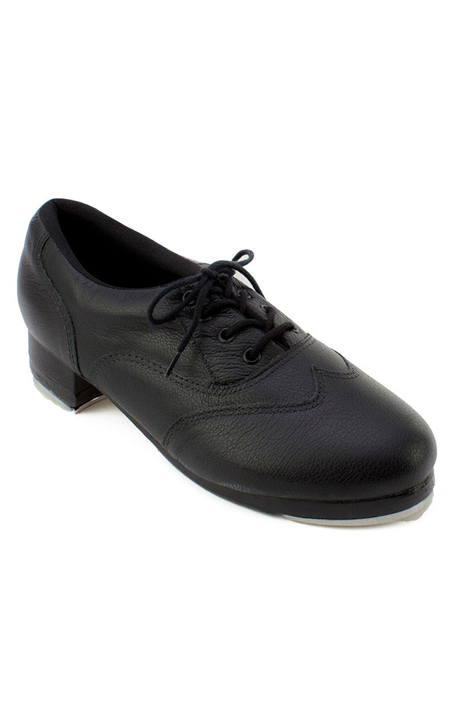 So Danca TA200 Black Adult Leather Lace Up Tap Shoes
