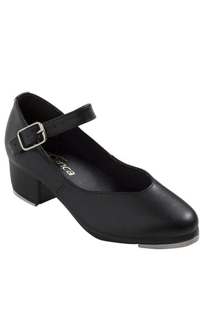 "So Danca TA44S Child Black 1.25"" Cuban Heel Tap Shoes"