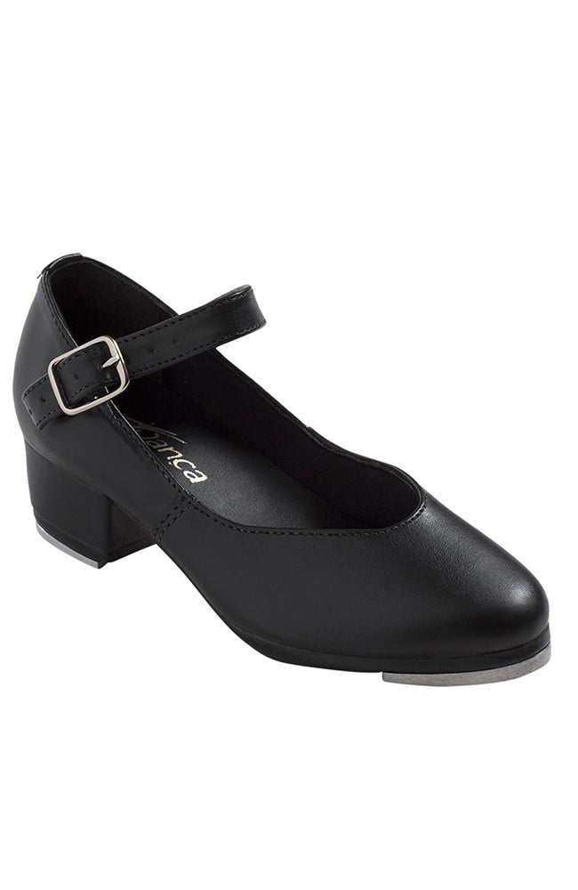 "So Danca TA44 Adult Black 1.25"" Cuban Heel Tap Shoes"