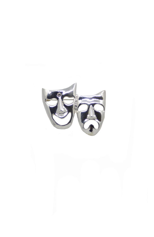 Theatrical Masks Pin D13442