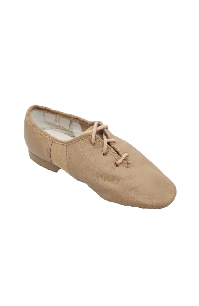 Tivoli Lace Up Jazz Split Sole Leather Tan