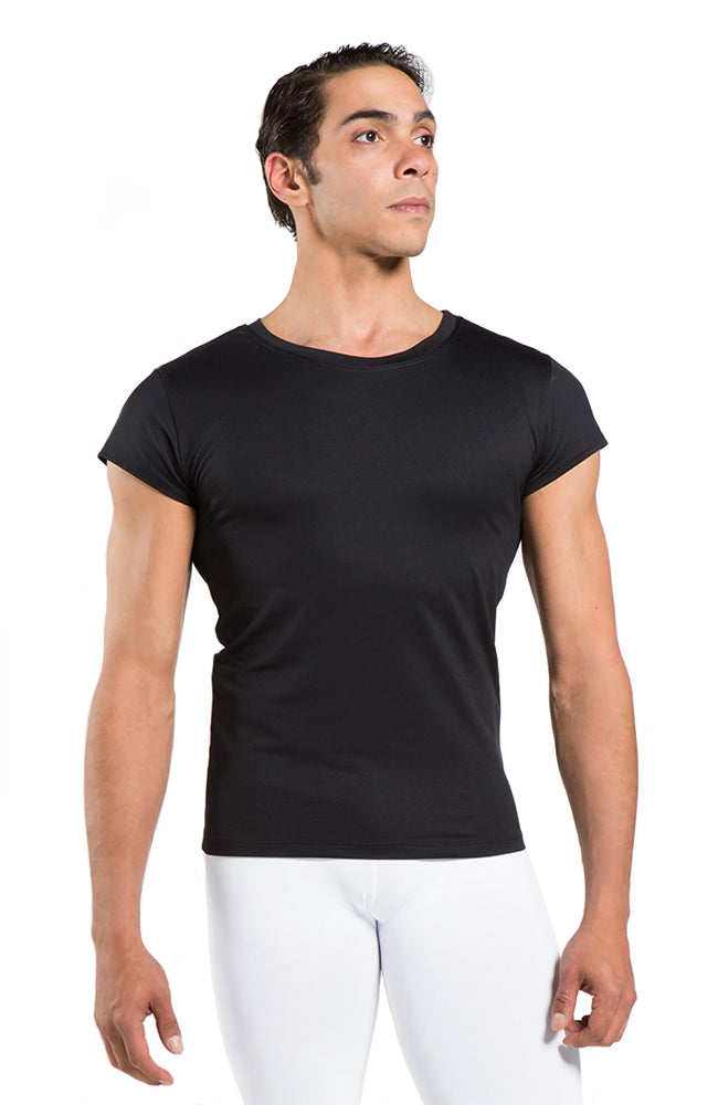 Wear Moi Conrad Crewneck Crop Short Sleeve Top