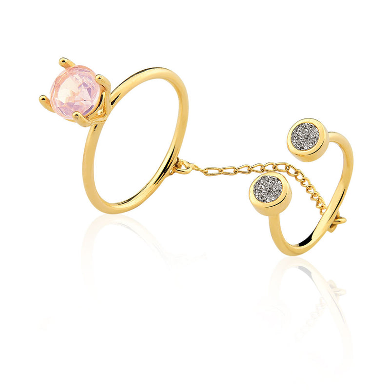 ANEL DIAMOND - QUARTZO ROSA FO - IN LOVE