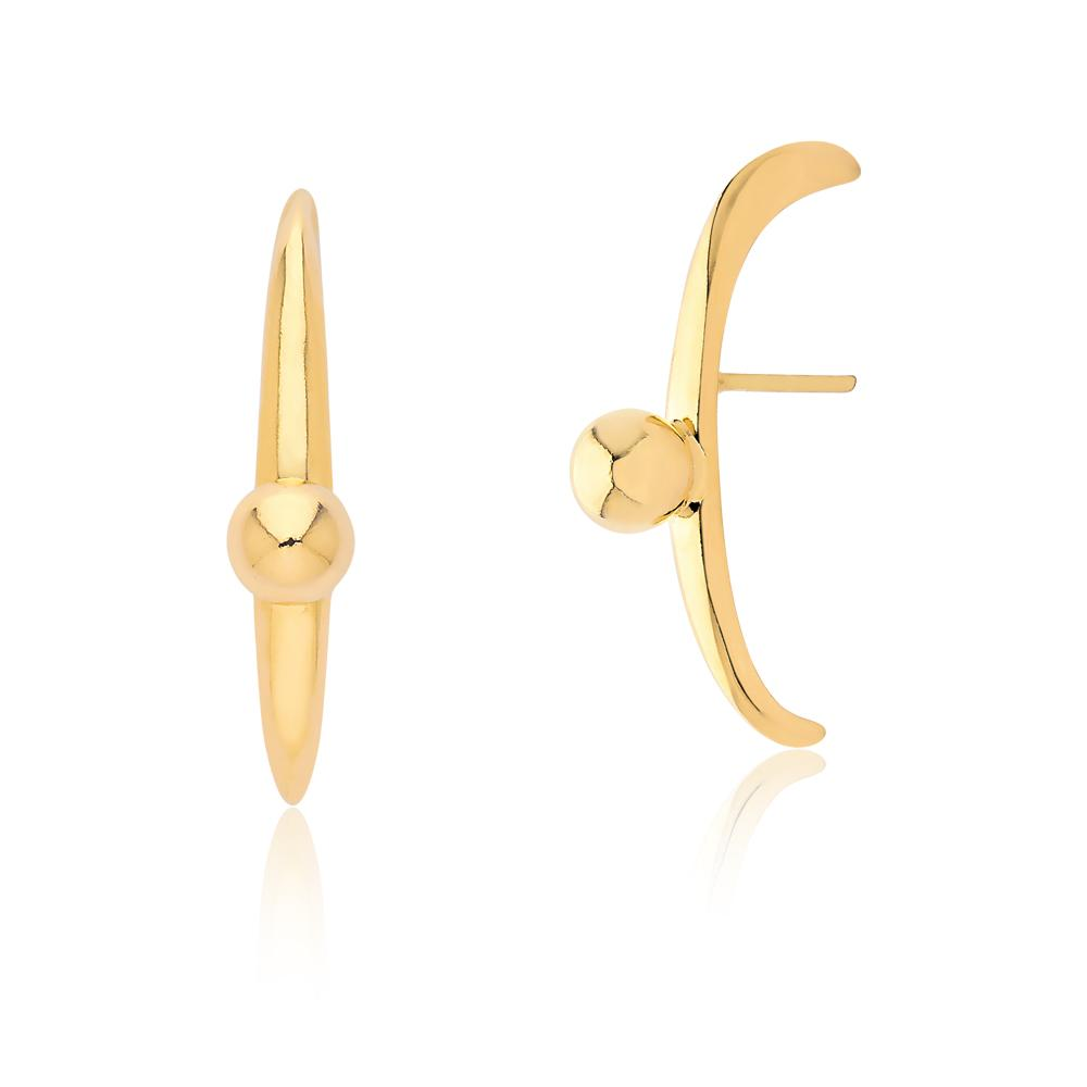 PUPIL EARRING - GOLD - ICONE