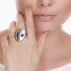LOOK RING - MIRROR-SODALITE - REFLEXO
