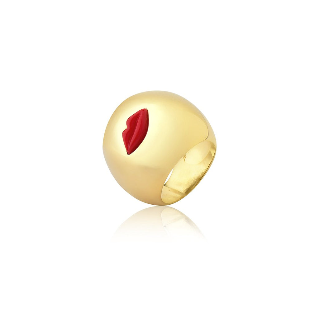 SOFT KISS RING - RED - KISS ME