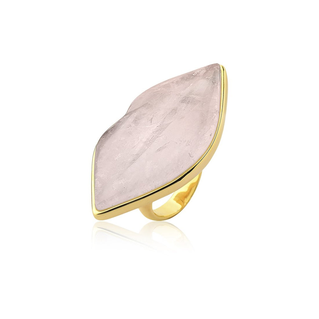 KISS ME RING - PINK QUARTZ - KISS ME